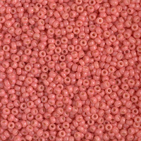Бисер 5грам круглый 11/0 Япония 11-4464:  11/0 Duracoat Dyed Opaque Light Watermelon Miyuki