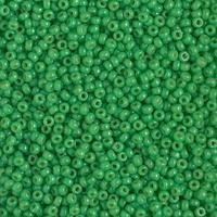 Бисер 5грам круглый 11/0 Япония 11-4476:  11/0 Duracoat Dyed Opaque Fiji Green Miyuki