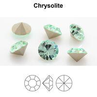 Preciosa Chaton MAXIMA SS16 4м цвет chysolite Оправа пришивная Цена за 10 штук