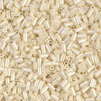Стекярус 5грам BGL1-594:  3Бисер 5грам МИКС MM Miyuki Bugle Bead Cream Ceylon
