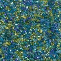 Бисер 5грам Delica 11/0 Япония DBMIX-21:  Delica Mix - Electric Blue Lagoon
