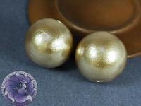 Хлопковый жемчуг круглый Cotton Pearls Цвет Beggie (Бежевый) Japan