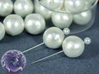 Хлопковый жемчуг круглый Cotton Pearls Цвет White Japan