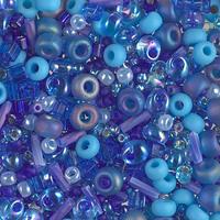 Бисер 5грам МИКС MM-002:  Multi Mix - Blueberry Pie