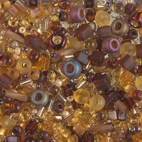 Бисер 5грам МИКС MM-009:  Multi Mix - Golden Grains