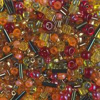 Бисер 5грам МИКС MM-042:  Multi Mix - Autumn